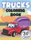 Trucks Coloring Book: Creative and Fun Designs with Digger Dumper Garbage Truck and More Vehicles Cover Image