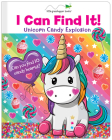I Can Find It! Unicorn Candy Explosion (Large Padded Board Book) Cover Image