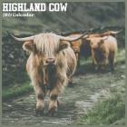 Highland Cow 2021 Calendar: Official Farm Animals Wall Calendar 2021 Cover Image