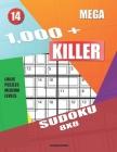 1,000 + Mega sudoku killer 8x8: Logic puzzles medium levels Cover Image