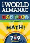 World Almanac for Kids Puzzler Deck: Math: Ages 7-9, Grades 2-3 Cover Image