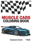 Muscle Cars: Coloring books, Classic Cars, Trucks, Planes Motorcycle and Bike (Dover History Coloring Book) (Volume 5) Cover Image