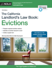 The California Landlord's Law Book: Evictions Cover Image
