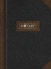 Mobile Notary Journal: Hardbound Record Book Logbook for Notarial Acts, 390 Entries, 8.5