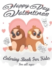 Valentine's Coloring Book for Kids: Lovely animals coloring books, Valentine's day coloring book, Baby books valentines day, Valentines day toddler bo Cover Image