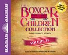 The Boxcar Children Collection Volume 28: The Summer Camp Mystery, The Copycat Mystery, The Haunted Clock Tower Mystery Cover Image
