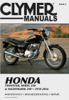 Honda Twinstar, Rebel 250 & Nighthawk 250, 1978-2016 Clymer Manual: Maintenance * Troubleshooting * Repair Cover Image