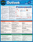 Microsoft Outlook 365 - 2019: A Quickstudy Laminated Software Reference Guide Cover Image