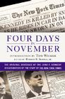 Four Days in November: The Original Coverage of the John F. Kennedy Assassination Cover Image