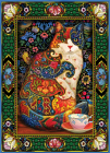 Painted Cat 1000-Piece Puzzle Cover Image