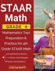 STAAR Math Grade 4: Mathematics Test Preparation & Practice for 4th Grade STAAR Math Cover Image