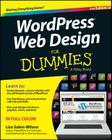 Wordpress Web Design for Dummies Cover Image