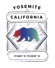 Yosemite California: Notebook For Camping Hiking Fishing and Skiing Fans. 7.5 x 9.25 Inch Soft Cover Notepad With 120 Pages Of College Rule Cover Image