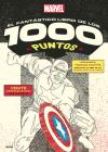 Marvel el fantástico libro de los 1000 puntos (unir los 1000 puntos) Cover Image