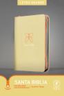 Santa Biblia Ntv, Edición Zíper Con Referencias, Letra Grande (Letra Roja, Sentipiel, Beige) Cover Image