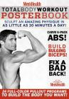 Men's Health Total Body Workout Poster Book Cover Image