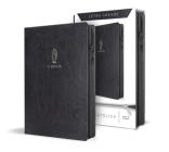 Biblia Católica: Edición Tamaño grande, letra grande. Símil piel negra, con cremallera Cover Image