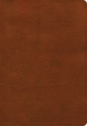 NASB Super Giant Print Reference Bible, Burnt Sienna LeatherTouch, Indexed Cover Image