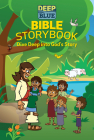 Deep Blue Bible Storybook: Dive Deep Into God's Story Cover Image