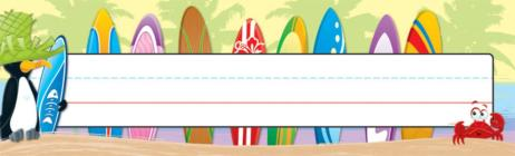 Surfing Nameplates Cover Image
