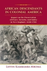 African Descendants in Colonial America: Impact on the Preservation of Peace, Security, and Safety in New England: 1638-1783 Cover Image