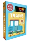 Trains: Book & Wooden Toy Set Cover Image