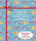 Flowers, Fruit & Vegetables from the Natural History Museum: Wrapping Paper: 12 Sheets (Wrapping Paper Books) Cover Image