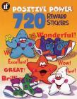 720 Positive Power Reward Stickers, Grades Pk - 6 Cover Image