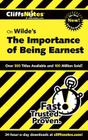 CliffsNotes Wilde's The Importance of Being Earnest Cover Image