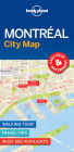 Lonely Planet Montreal City Map Cover Image