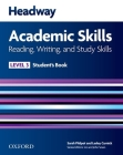 Headway 3 Academic Skills Reading and Writing Student Book (Headway Academic Skills) Cover Image