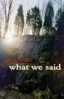 What We Said Cover Image