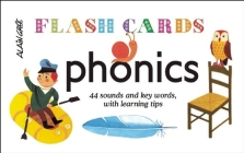 Phonics - Flash Cards: 44 Sounds and Key Words, with Learning Tips Cover Image