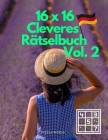 16 x 16 Cleveres Rätselbuch Vol. 2 Cover Image