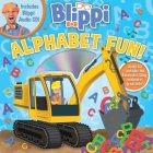 Blippi: Alphabet Fun! (8x8 with CD) Cover Image