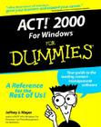 ACT 2000 for Windows for Dummies Cover Image
