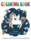 Unicorn Coloring Book Party Favors for Kids: A Beautiful Unicorn for Hours of Fun, Easy, and Relaxing Cover Image