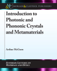Introduction to Photonic and Phononic Crystals and Metamaterials Cover Image