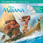 Moana Read-Along Storybook & CD (Read-Along Storybook and CD) Cover Image