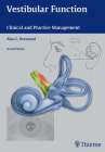 Vestibular Function: Clinical and Practice Management Cover Image