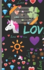 Account password & contact record book (Love #1) Cover Image