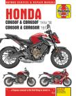 Honda CB650F & CBR650F '14 to '18 and CB650R & CBR650R '19 (Haynes Service & Repair Manual) Cover Image