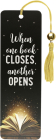 When One Book Closes Beaded Bookmark Cover Image