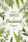 Internet Address & Password Keeper Book: Keep Tracking 900 Username and Password in One Book! --- 45 Pages Cover Image