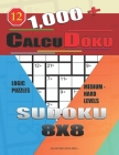 1,000 + Calcudoku sudoku 8x8: Logic puzzles medium - hard levels Cover Image