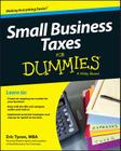 Small Business Taxes for Dummies Cover Image