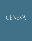 Geneva: Decorative Book to Stack Together on Coffee Tables, Bookshelves and Interior Design - Add Bookish Charm Decor to Your Cover Image