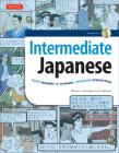 Intermediate Japanese Textbook: Your Pathway to Dynamic Language Acquisition: Learn Conversational Japanese, Grammar, Kanji & Kana: Audio CD Included Cover Image