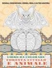 Foresta Uccello e Animale - Libro da colorare - Renna, Groundhog, Zebra, Iena, e altro ancora Cover Image