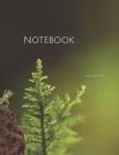 Notebook: mite small mushroom fungi moss mini fungi truffle aroma Cover Image